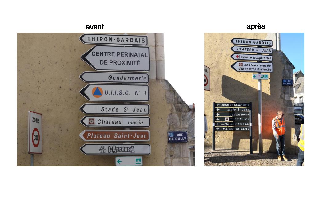 L'optimisation de la signalisation urbaine dans la commune de Nogent-Le-Rotrou par le bureau d'étude Amos Signalisation.