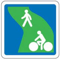 panneau voie verte - Amos-Signalisation
