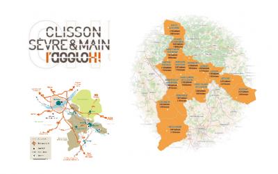 La signalétique des Parcs d'activités économiques (PAE) communautaires de Clisson Sèvre et Maine Agglo confiée à Amos Signalisation.
