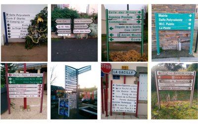 Comment mettre en place la signalisation d'information locale sur un territoire ?