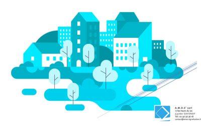 La signalétique au programme des « petites villes de demain » avec Amos Signalisation